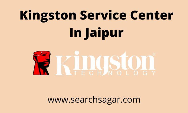 Kingston Service Center In Jaipur