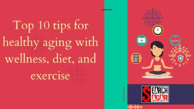 Photo of Top 10 tips for healthy aging with wellness, diet, and exercise
