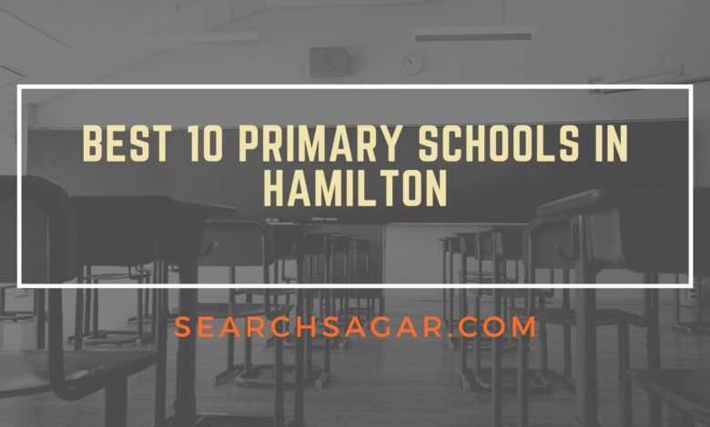 Best 10 Primary Schools in Hamilton