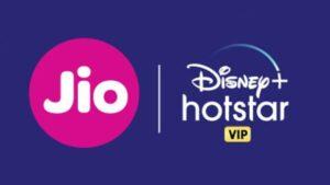 Disney + HOTSTAR VIP with JIO
