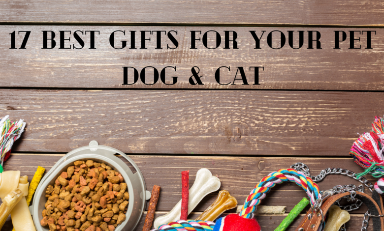 GIFTS FOR DOGS AND CATS